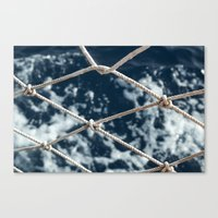 Nautical Rope Canvas Print
