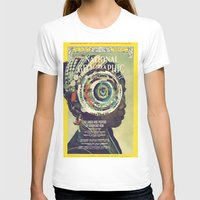 vortex Womens Fitted Tee White SMALL