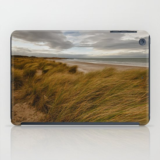Bamburgh Beach iPad Case