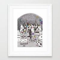Night Carnival Framed Art Print