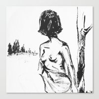 Woman No.2 Canvas Print