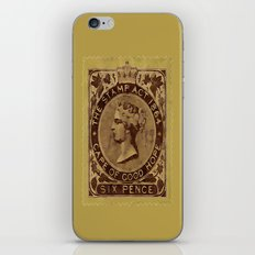 Tax Stamp 1864 - 019 iPhone & iPod Skin
