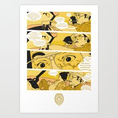 Holy Jesus, What Are These Goddammed Animals? Art Print