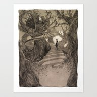The Witch House Art Print