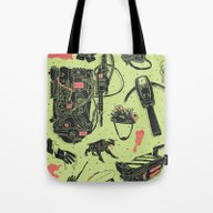 Artifacts: Ghostbusters Tote Bag