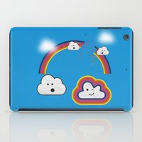 The Great Rainbow Cloud Robbery iPad Case