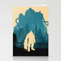 Bioshock 2 Stationery Cards