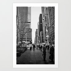 Strictly Business. Art Print