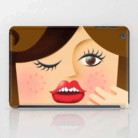 Lola Brown iPad Case