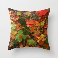 Lotta Leaves Throw Pillow