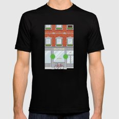 Pinwhistle Way Faccade SMALL Mens Fitted Tee Black
