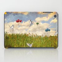 Pegasus and Balloons iPad Case