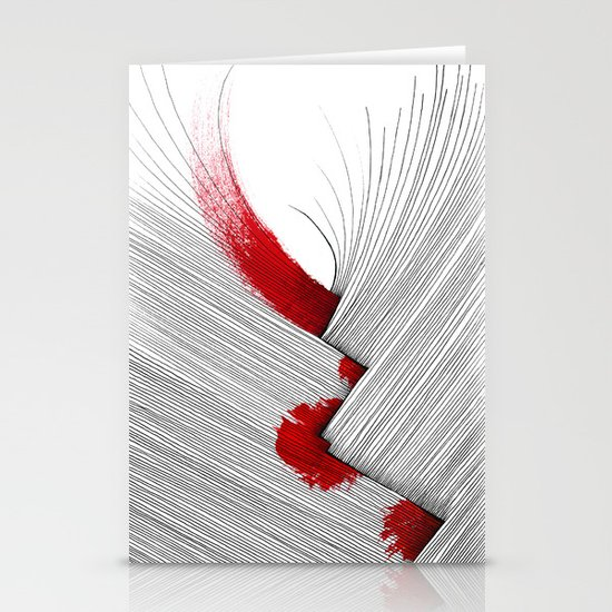 Impact (white version) Stationery Card