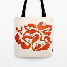 fox tail maze Tote Bag