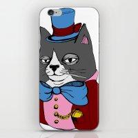Dignified Cat iPhone & iPod Skin