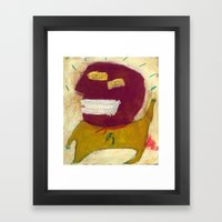 Hero Framed Art Print