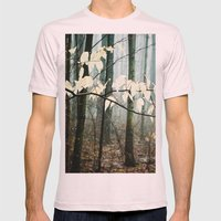Dreams of the Sun on a Rainy Day Mens Fitted Tee Light Pink SMALL
