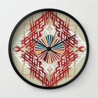 abstrkt placement Wall Clock