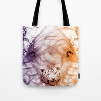 Tiger Family Tote Bag