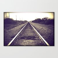 You can only move forward from here. Canvas Print