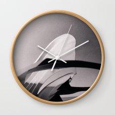Paper Sculpture #2 Wall Clock