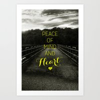 Peace of Mind and Heart Art Print