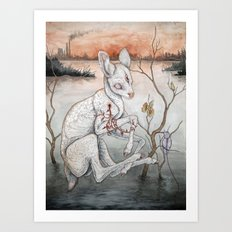 Ghosts From The Flood Pl… Art Print