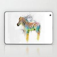 Drippy Jazzy Zebra by Jai Johnson Laptop & iPad Skin