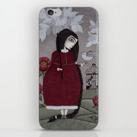 Winterbird, or Hope is a Thing With Feathers iPhone & iPod Skin