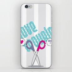 LOVE TROUBLE iPhone & iPod Skin