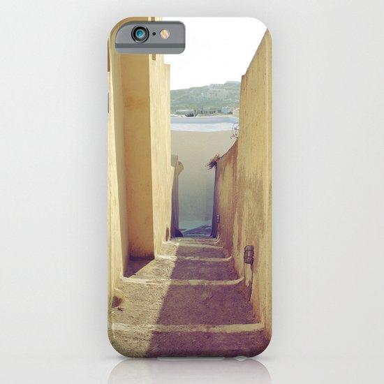 Yellow Path iPhone & iPod Case