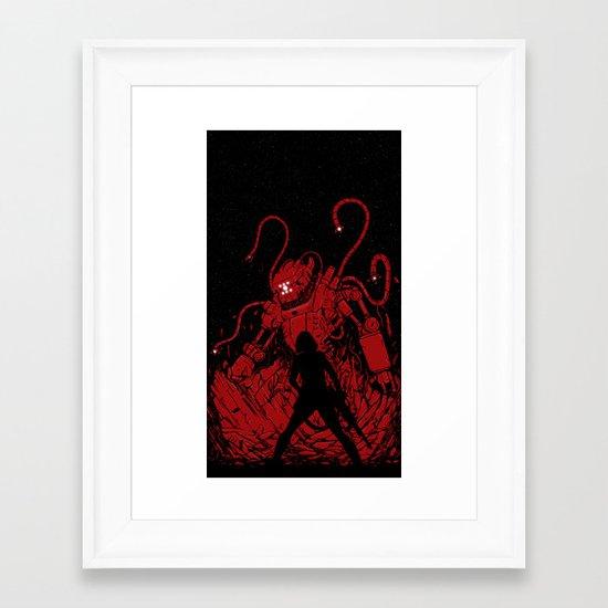 Surprise Attack Framed Art Print