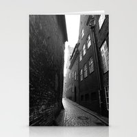 The Alley Photo In Black… Stationery Cards
