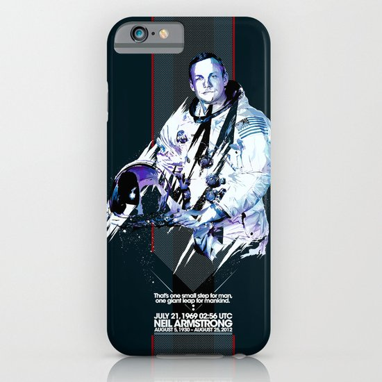 Neil Armstrong Tribute iPhone & iPod Case