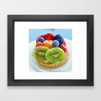 Crazy Delicious Framed Art Print