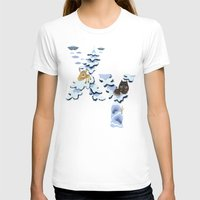 X & Y Womens Fitted Tee White SMALL