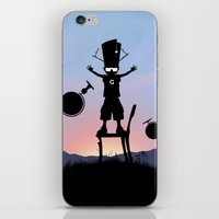 Galactu s Kid iPhone & iPod Skin