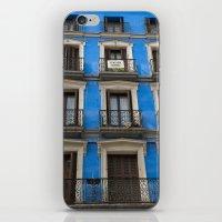 Madrid Blues iPhone & iPod Skin