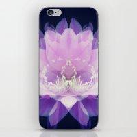 Cactus Flower Pink iPhone & iPod Skin