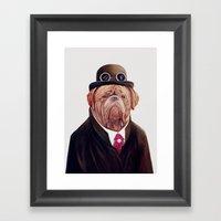 Dogue De Bordeaux Framed Art Print