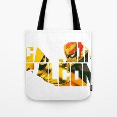 Captain Falcon Tote Bag