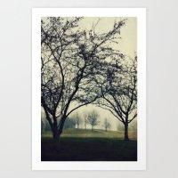 Embracing the Distance Art Print