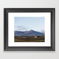 Connemara  - Horse And M… Framed Art Print