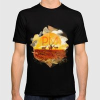 Sunset Adaption | Peter … Mens Fitted Tee Black SMALL