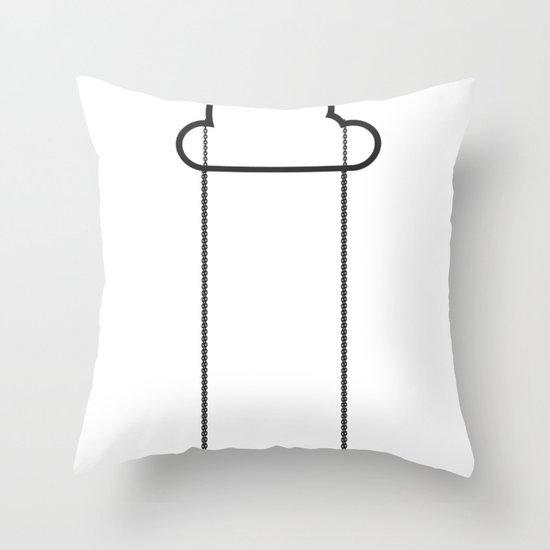 High swing Throw Pillow