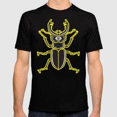 Nightmare Beetle Black Mens Fitted Tee SMALL