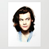 Harry Styles - 05 Art Print
