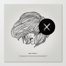 STV - Whiteout Canvas Print