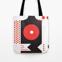 King Of The Mountains, A… Tote Bag