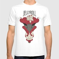 Jellyroll #6: Soul Mens Fitted Tee White SMALL